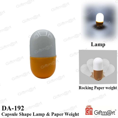 LED Tumbler Pill Capsule White Light