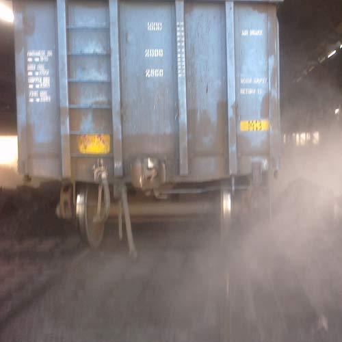 Wagon Tippler Dust Suppression System