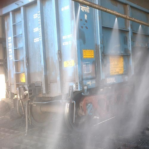 Truck Hopper Dust Suppression System