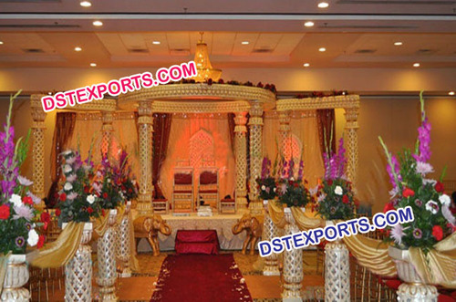 Grand Wedding Lotus Mandap