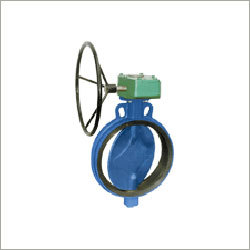 Gearbox Mounted Butterfly Valve
