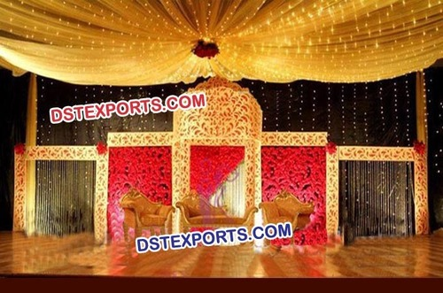 Wedding Stage Carved Backdrop Screens