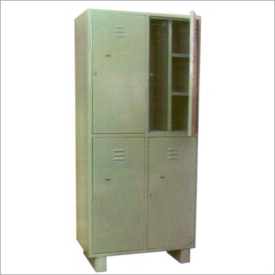 Industrial 4-Locker Cupboards
