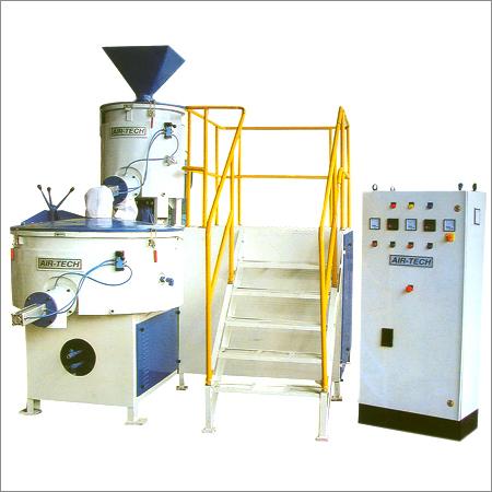 Horizontal Heating Cooling Mixers