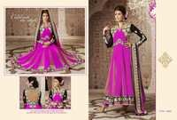 Pink Designer Anarkali Salwar Suit