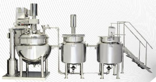 Ointment Manufacturing Line