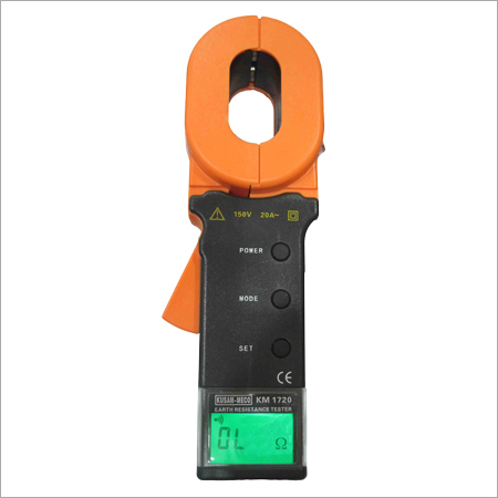 CLAMP - ON TYPE EARTH RESISTANCE TESTER