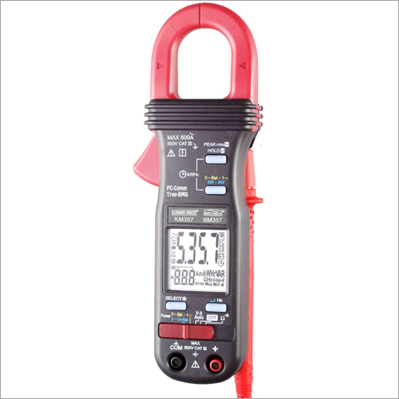3 PHASE TRMS POWER CLAMP-ON METER