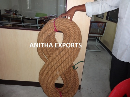 4-PLY 105 mm Diameter COIR  ROPES