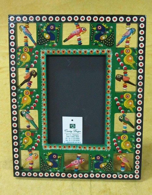 Hand Painted Wooden Picture Frame