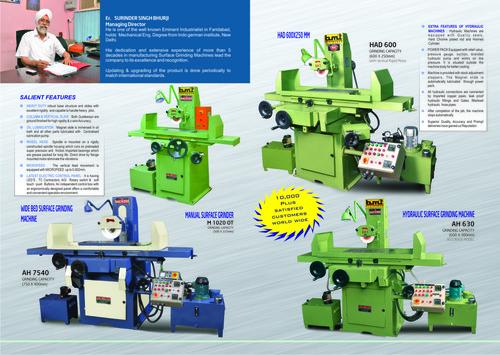 Plunge Grinding Machine