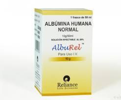 Alburel - Alburel Human Albumin Injection 20 g