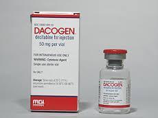 Dacogen - Decitabine  Injection 50 mg