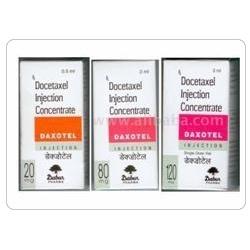Daxotel - Docetaxel Injection 20 mg & 80 mg