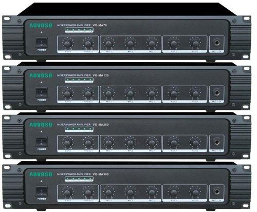 Mixer Power Amplifiers