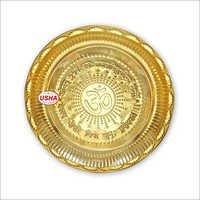 Precision Brass Puja Plate