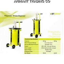 Pneumatic Grease Dispenser & Pneumatic Grease Gun