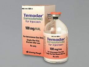 Temodar - Temozolamide Capsule 20, 100 & 250 mg