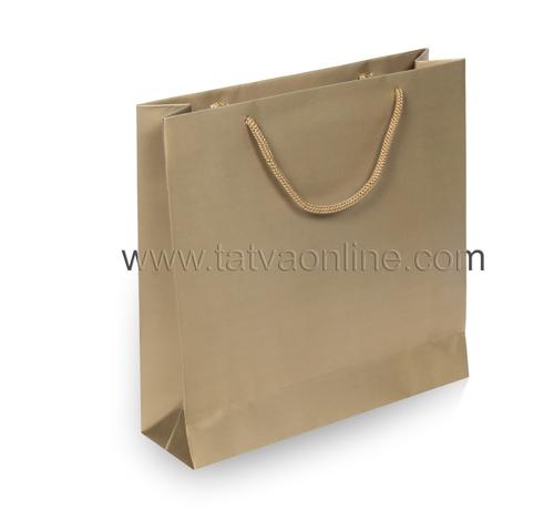 Golden Paper Gift Bag