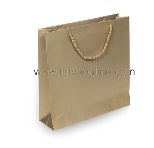 Golden Paper Gift Bag