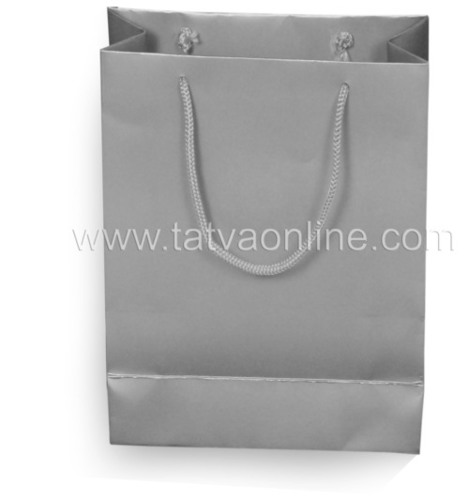 Silver Gift Paper Bag
