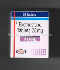 Xtane - Exemestane Tab 25 mg