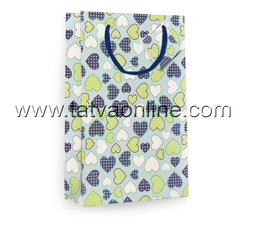 Handmade Printed Gift Bag