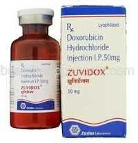 Zuvidox - Doxorubicin Injection 10 mg & 50 mg
