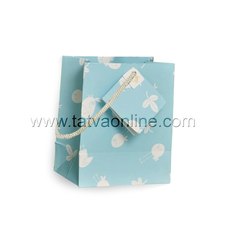 Baby Blue Gift Paper Bag