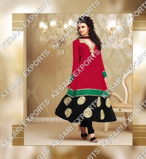 Exclusive Anarkali designer salwar kameez