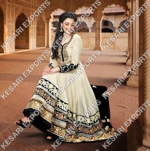 Indian Anarkali designer salwar kameez