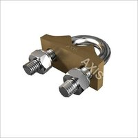 U-BOLT ROD CLAMPS- TYPE 'E'- SINGLE PLATE