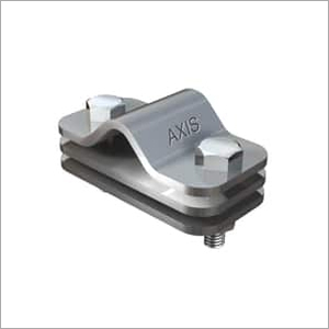 ROD TO FLAT CONDUCTOR WITH INTERMEDIATE PLATE