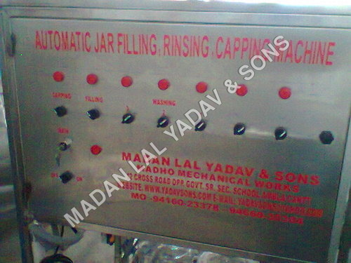 3 in1 20 liter jar rinsing,filling,capping machine