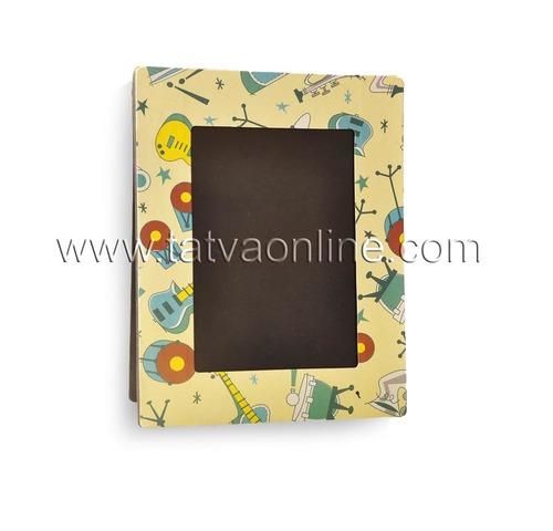 Yellow Photo Frame