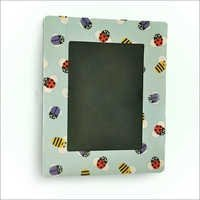 Blue Paper Photo Frame