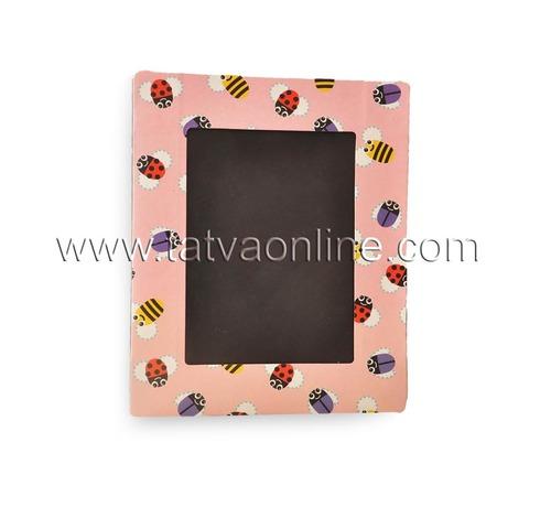 PinkCardboard Photo Frame