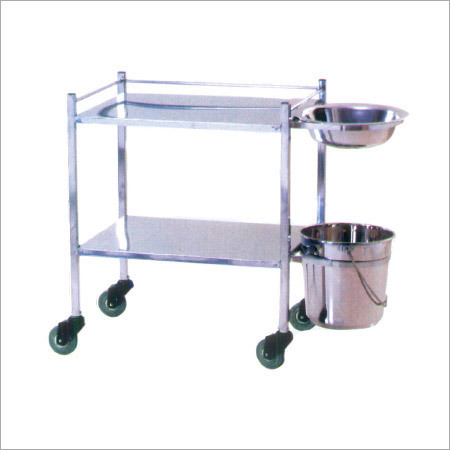 Dressing Trolley Bowl Bucket
