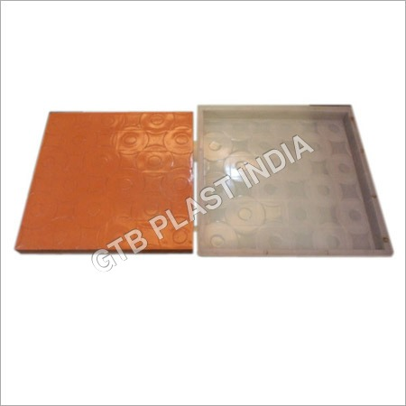Color Designer Chequered Tiles Moulds