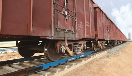 Rail In Motion Weighing System