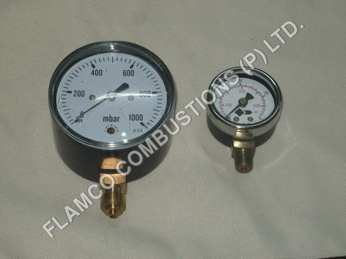 Industrial Burners Pressure Gauges
