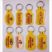 Abs laminated Keyring