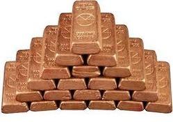 Solid Copper Ingots