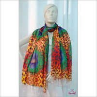 Animal Print Fashionable Long Scarves