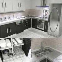 Furnished Kitchen Bunkhouse