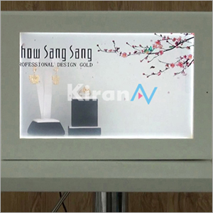 Dynamic Transparent Display Showcase Box