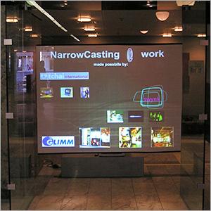 Rear Projection Screen Films