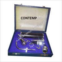 DIAGNOSTIC SET ENT OTOSCOPE NASAL TOOLS IN PLASTIC BOX EAR NOSE THROAT ENT SET