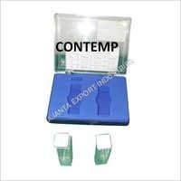 SET OF 2 QUARTZ CUVETTES 10MM CUVETTE CELL SPECTROMETER