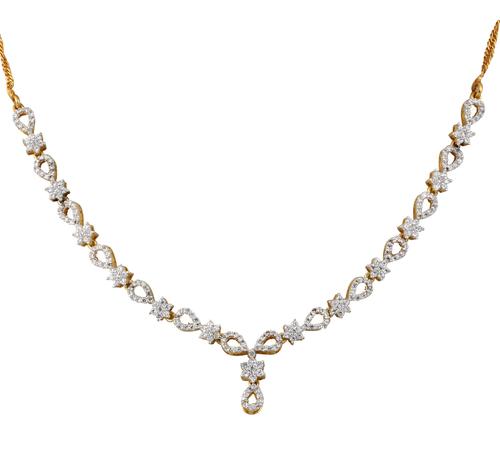 Daily wear stylish Diamond Necklace